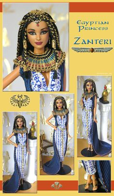 Egyptian Princess Zanteri by Nika Designs