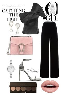 """""""bring light into dark"""" by florairon on Polyvore featuring Nevermind, T By Alexander Wang, Yves Saint Laurent, Gucci, Dolce&Gabbana and Kate Spade"""