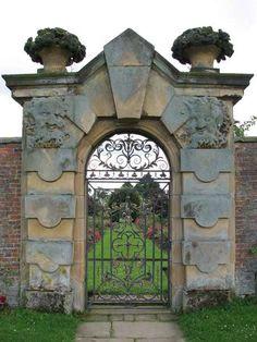 Image detail for -Garden Gates - Castle Howard 17th Century England - 1201WT