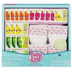 Baby Alive Doll Food Amp Juice Accessory Pack Hasbro Toys