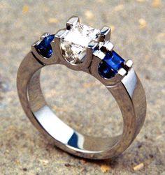 David Keeling design of saphire and diamonds