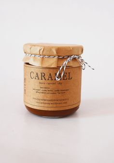 Organic Caramel Jar //Sauce/ Dip /Spread // Organic Fair Trade Cane Sugar in Small Batches