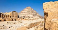The Saqqara Pyramid