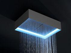 Ceiling mounted overhead shower FUORIMETEO by Antonio Lupi Design® | design Nevio Tellatin