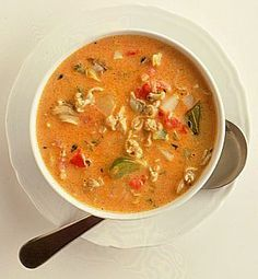 Conch Chowder, a sort of a blend of Bahamian and South Florida culture is a favorite in the Florida Keys.