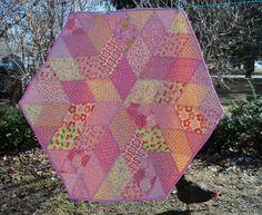 Sewn: Diamond Quilt - A Tutorial