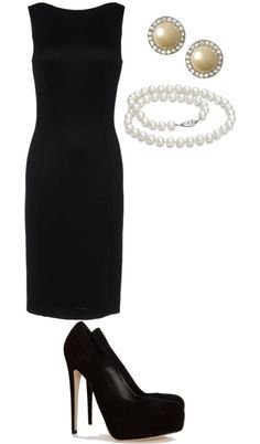 The little black dress may be called classic today but in old english they would have called it classis ;)