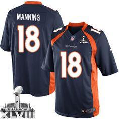 Peyton Manning Limited Jersey-80%OFF Nike Peyton Manning Limited Jersey at Broncos Shop. (Limited Nike Men's Peyton Manning Navy Blue Super Bowl XLVIII Jersey) Denver Broncos Alternate #18 NFL Easy Returns.