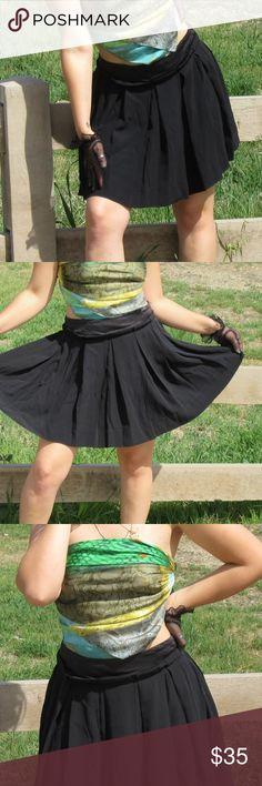 CHLOE SZ L OR 8 SEE MY CHLOE BLACK SKIRT MINI Mini skirt by Chloe Skirts