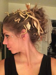 Medusa hair and makeup …