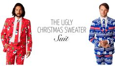 Get an Ugly Suit Inspired by The Ugliest Christmas Sweaters