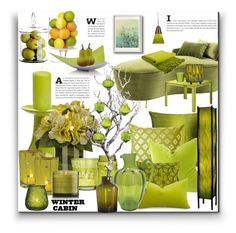 """Winter Cabin"" by marionmeyer on Polyvore featuring interior, interiors, interior design, Zuhause, home decor, interior decorating, Eichholtz, Abbott, Pillow Decor und Home Decorators Collection"