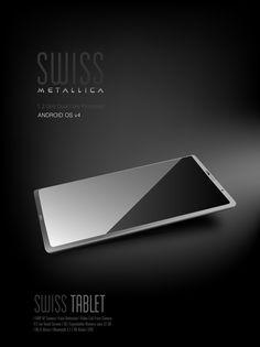 Tablet Design by Krishna Kumar, via Behance