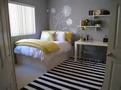 gray and yellow bedroom ideas - Bing Images