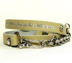 Serenity Prayer Bracelet / Serenity Prayer by OnLemonberryLane