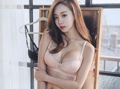 데일리 언더웨어 원더 브라 #daily#underwear#langerie#skin#model