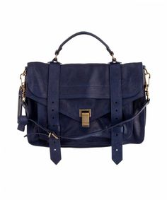 Proenza Schouler PS 1 in midnight. Coincidentally, approximately the time it appears in my dreams, nightly.