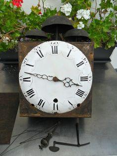 Mouvement Comtoise 18 ÉME COQ 3 Cloches Dans SON JUS Horloge Pendule Mécanisme | eBay