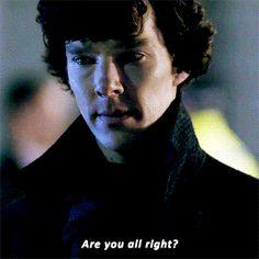 rominatrix:Sherlock checking up on John From Tumblr
