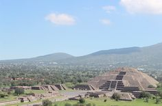 Teotihuacan: Outside Mexico City lie the ruins of a civilization that supported 200,000 people back when London was just a Roman fort. Three pyramids, aligned in the same relative positions as the Pyramids of Giza, rise above an interlocking system of reflecting pools.