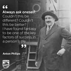 Before serving as Philips' CEO from 1922-1939, Anton Philips made a name for himself as an entrepreneurial salesman. His biggest success at the time was scored in Russia. Traveling through Russia in 1898, he secured orders for 50,000 lamps. His older brother, Gerard Philips didn't believe the news. So Anton sent a telegram with the words 'fifty thousand, Fünfzig Tausend, cinquante mille'.