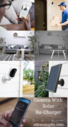 The Surveillance Camera built with starlight image sensor, it can see up to night vision. You do not miss any details day and night. You can keep an eye on your property at all times. Cc Camera, Sun Light, Electronics Gadgets, Night Vision, Solar Panels, Charger, Home And Garden, Times, Eye