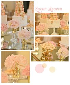 yes! yes! yes! blush and gold love.