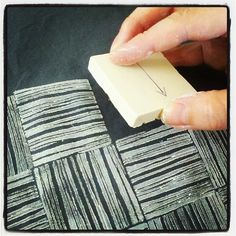 More fabric printing. by small::bird, via Flickr