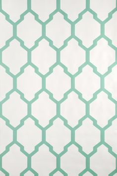 Farrow & Ball Tessella is a truly geometric paper. Inspired by a century design this interlocking mosaic pattern is confident and clean. Tessella has a ground colour in Pointing No. 2003 and pattern printed in Arsenic Free Wallpaper Samples, Print Wallpaper, Pattern Wallpaper, Green Wallpaper, Bathroom Wallpaper, Free Samples, Mosaic Patterns, Print Patterns, Shoe Room