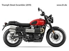 👕Visual Apparel T-Shirt Store for the latest trends and the best deal Triumph Street Scrambler, Scrambler Motorcycle, Motorcycle Outfit, Motorcycles, Classic Bikes, Motorbikes, Shopping, Collection, Round Round