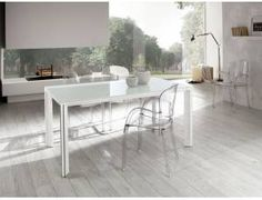 Diamond tavolo allungabile in vetro - Tavolo rettangolare ...