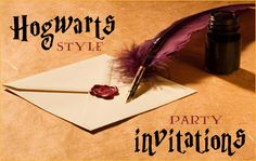 Harry Potter Birthday Party Ideas. And yes I  am a grown up who wants a Harry potter party. What of it?