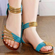 8d4b33078ed72a Latest And Stylish Flat Sandals For Young Girls From 2014