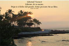 Libertad Viernes! Estar presente y ser libre.  FVW