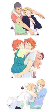 aawww their siblings || Haikyuu ♛