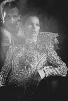 Waltz Darling | Kate Moss and Marlon Richards by Tim Walker for Love No. 8, Fall/Winter 2012
