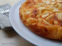 questa ricetta della torta di mele cremosa è una vera delizia, un dolce al cucchiaio morbido e cremoso.