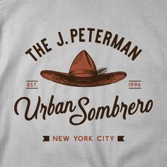 Peterman Urban Sombrero Men/Unisex T-Shirt Art Clothing, Clothing Apparel, Bleach Shirts, Tee Shirts, George Costanza, Jerry Seinfeld, Old Signs, Train Layouts, T Shirts