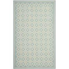 Safavieh Hand-made Chelsea / Ivory Wool Rug