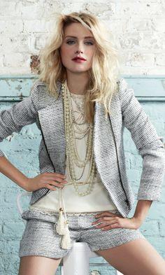 matching shorts and blazer   Dorothy Perkins SS12 Matching Blazer And Shorts Is Perfect For This ...