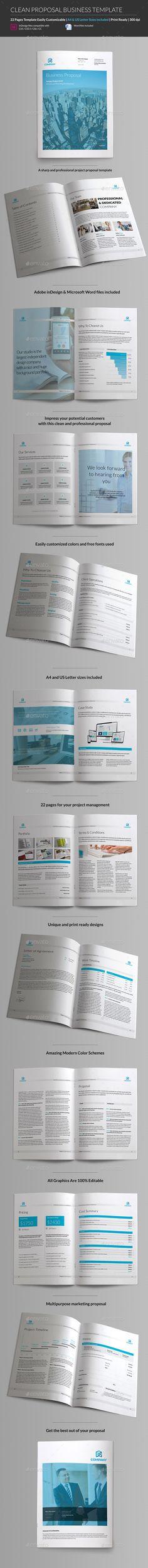 Business Proposal Template - A4 Portrait Business proposal - proposal templates