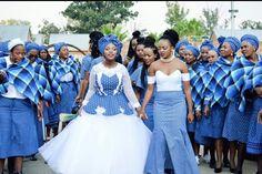 Setswana wedding Seshoeshoes