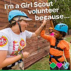 11 Inspiring Reasons Girl Scout Volunteers Step Up to the Plate. #GirlScouts #volunteers