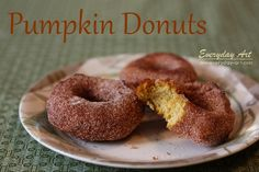 Fall Favorite: Pumpkin Donuts #pumpkin #donuts #recipe