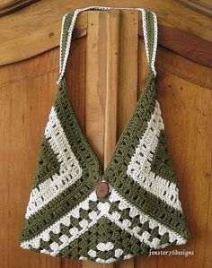 1000 Ideas About Granny Square Bag On Pinterest Crochet