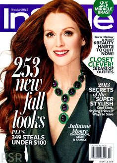 Julianne Moore para InStyle US, Octubre 2013