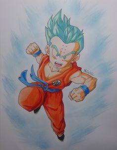 Krilin Super saiyan god super saiyan XD - Visit now for 3D Dragon Ball Z compression shirts now on sale! #dragonball #dbz #dragonballsuper