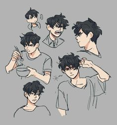 hair sketches boy & hair sketch + hair sketch tutorial + hair sketch easy + hair sketches girl + hair sketch tutorial step by step + hair sketches boy + hair sketch anime + hair sketch male Cute Art Styles, Cartoon Art Styles, Cartoon Kunst, Bd Art, Drawing Expressions, Character Design Inspiration, Male Character Design, Boy Character, Art Reference Poses