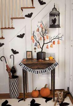 cool 45 Spooky Halloween Home Decorations Ideas  https://about-ruth.com/2017/10/28/45-spooky-halloween-home-decorations-ideas/