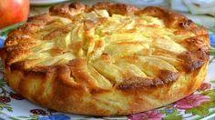 Пирог с яблоками в духовке очень просто и очень вкусный. Такой пирог...